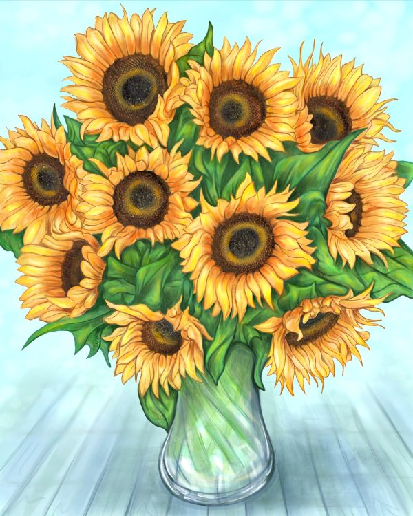 sunflowers_by_arnold_thomas