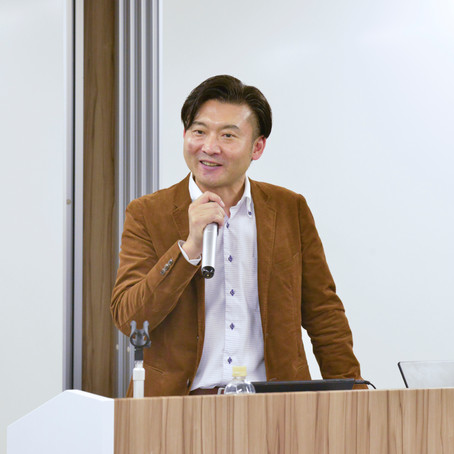 FUJITSU AI Communityに登壇(CEO 虻川勝彦)
