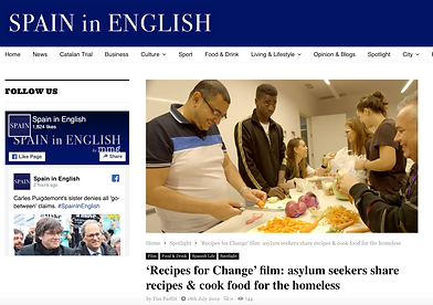 Spain in English Recipes for Change