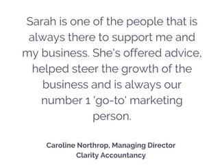 Clarity Accountancy Testimonial
