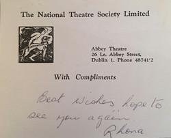 Abbey Theatre, Dublin