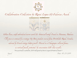 Authenticity certificates
