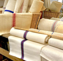 Staging of French Linens