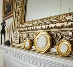 3 Italian framed Intaglios