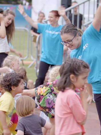 DashDotDance Inclusive Workshop at the Walthamstow Garden Party 2019
