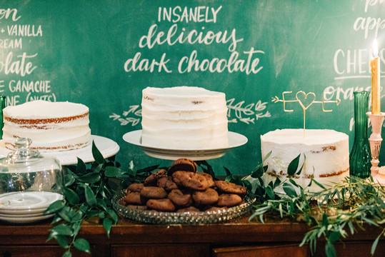 FRECKLES + INK // PHOTO BY:  Ivy Bee Weddings // chalkboard, lettering, how sweet it is, wedding
