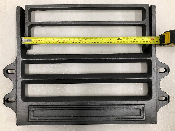 "Brand New 12,14,15 or16"" Victorian Cast Iron Kitchen Range Front Bars"