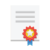Certificate Icon Vector.png