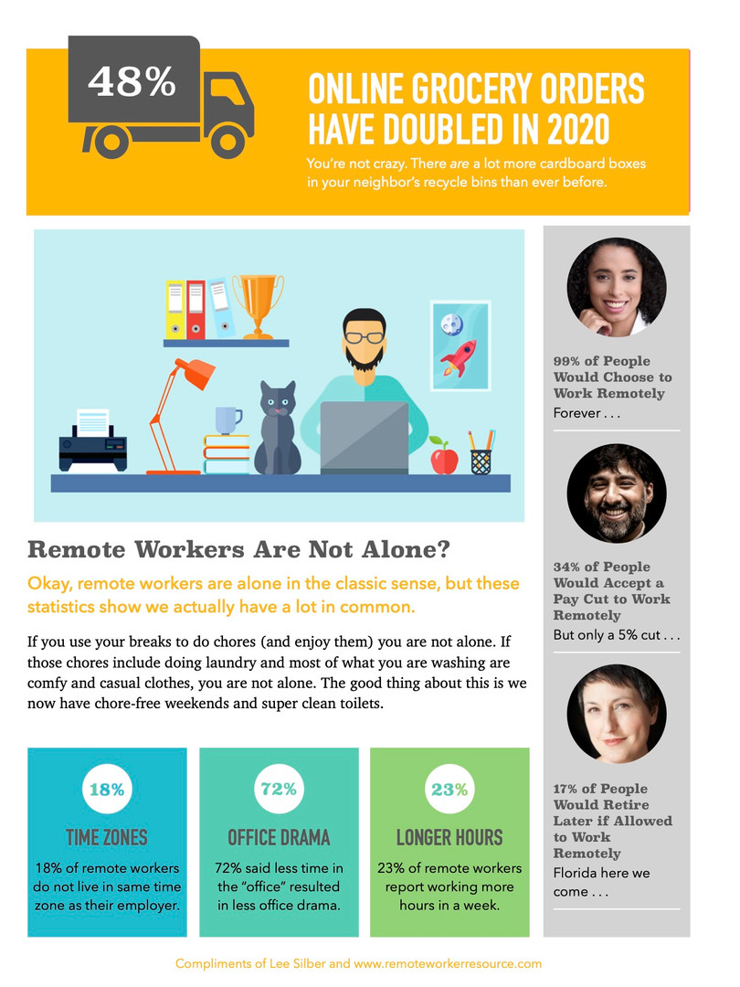 Fun Facts About Remote Workers