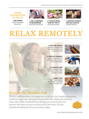 Relax Remotely