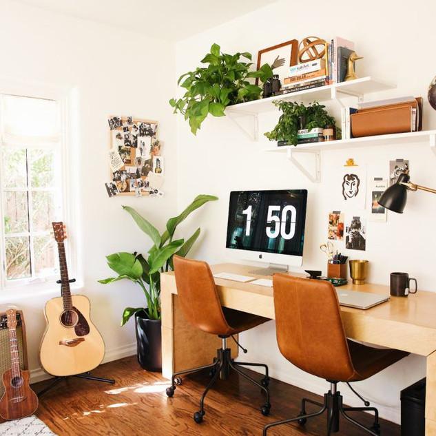 Bedroom Turned Office