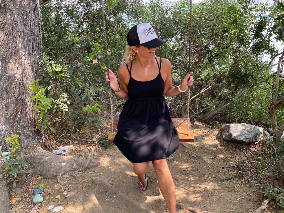 My Wife on a Swing