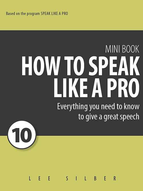 Speak Like a Pro