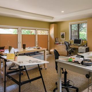 Garage Turned Office