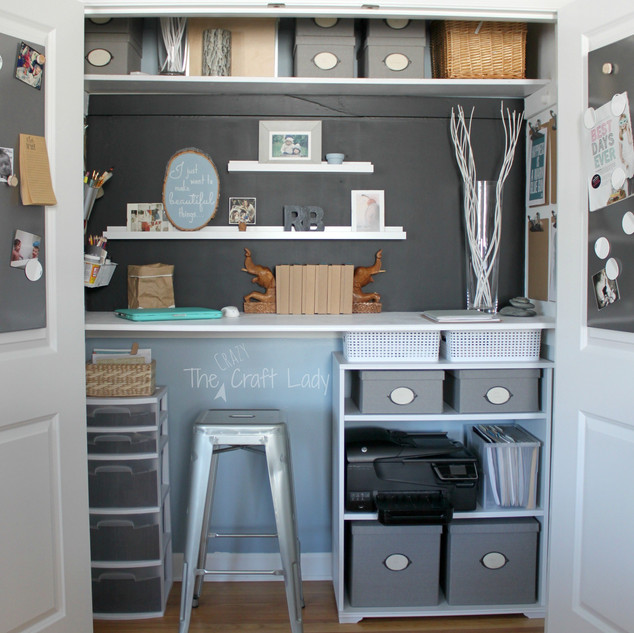 Tiny Closet Offfice