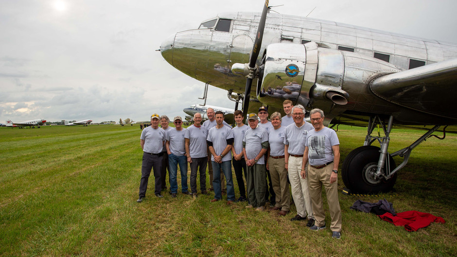 Duxford To Normandy, The Final Leg