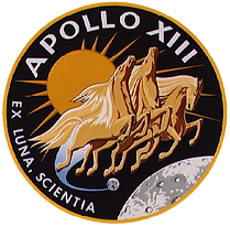 Apollo 13 badge