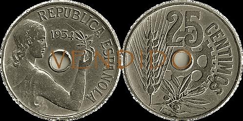 25 CTS. 1934. MBC+