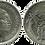 Thumbnail: 25 PESETAS, 1957 (*70). SC