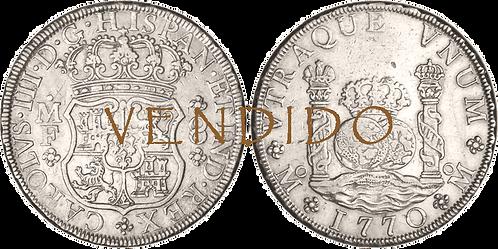 1770_MEJICO_MF. 8 reales. MBC+