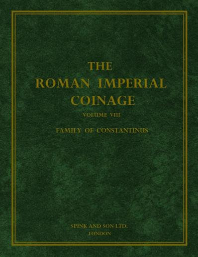 Roman Imperial Coinage Vol. VIII