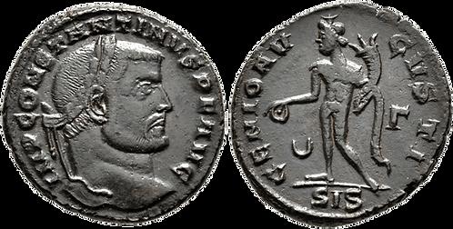 CONSTANTINO I. AE2. EBC-. RIC Siscia 209