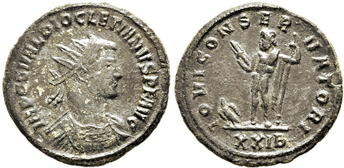 DIOCLECIANO. AE2. MBC+. RIC Diocletian 268