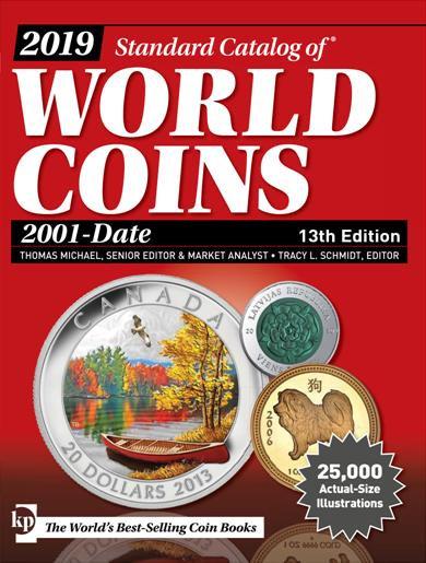 Catálogo Krause World Coins 2001-Date. 13 th Edition.