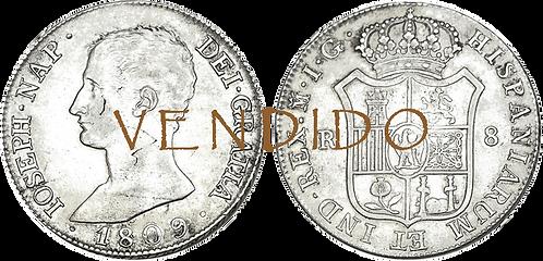 1809_MADRID, IG. 8 Reales. EBC