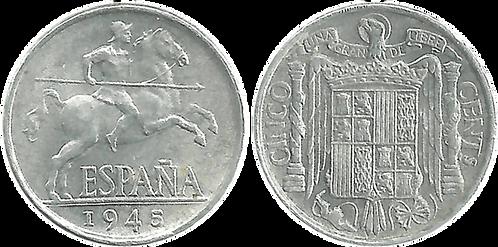 5 CTS. 1945. (SC)