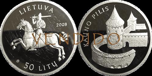 LITUANIA, 50  LITU, 2008 (PROOF)