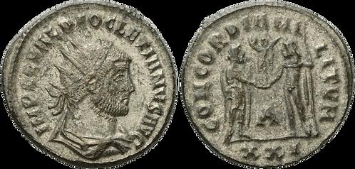 DIOCLECIANO. AE. Aureliano. EBC-. RIC 306