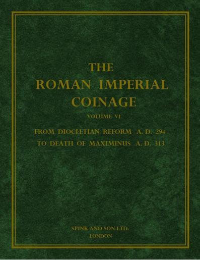 Roman Imperial Coinage Vol. VI