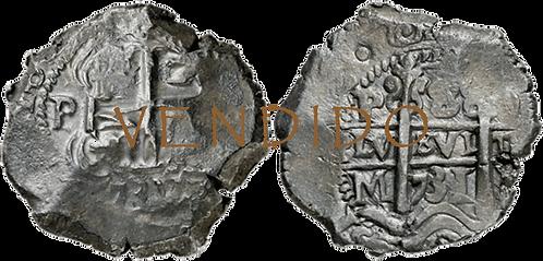 1731_POTOSI, M. 8 Reales. MBC+