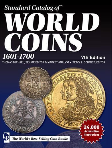 Catálogo Krause World Coins 1601-1700. 7th Edition.