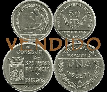 CJO. SANTANDER, PALENCIA Y BURGOS, Serie (SC)