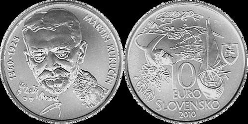 ESLOVAKIA, 10 EUROS, 2010 (S/C)