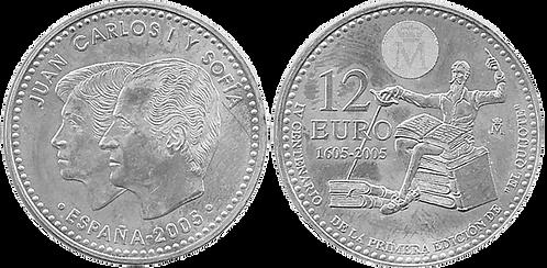 12 EUROS, 2005. (SC)