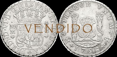 1756_MEJICO, MM. 8 Reales. MBC+