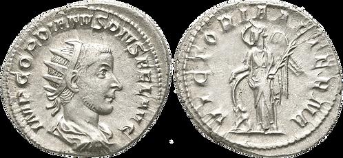 GORDIANO III. Antoniniano. MBC+/EBC-. RIC 156