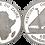 Thumbnail: ZAIRE, 1000 NUEVOS ZAIRES, 1997. (PROOF)