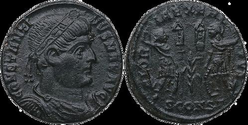 CONSTANTINO I. AE3. MBC+. RIC VII Arelate 358