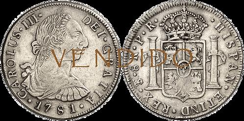 1781_POTOSI_PR. 8 reales. MBC-