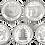 Thumbnail: UNESCO 2ª SERIE 5 Monedas de 2000 PESETAS 1997