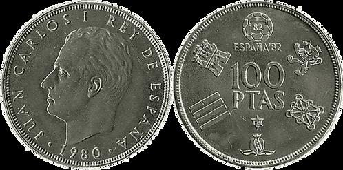 100 PESETAS, 1980 (*80), SC