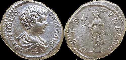 GETA. Denario. EBC-/MBC. RIC 4 (denarius)