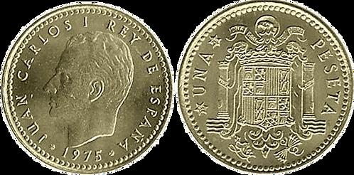 1 PESETA, 1975 (*19, *76). SC