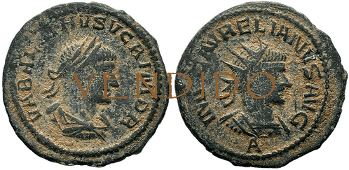 VABALATHUS. Antoniniano. MBC. RIC 381