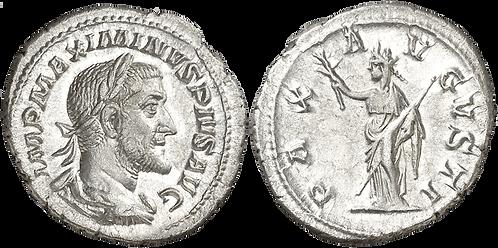 MAXIMINO I. Denario. EBC. RIC 12