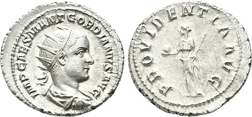 GORDIANO III. Antoniniano. SC-/EBC+. RIC 4